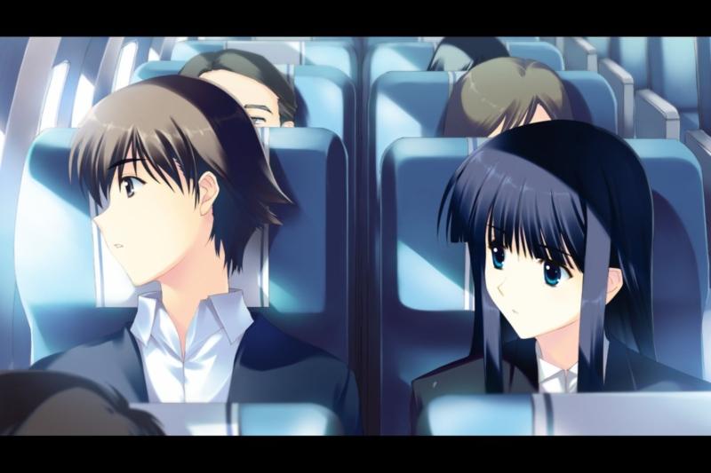 日本との別れ・かずさとの二人の世界の始まり